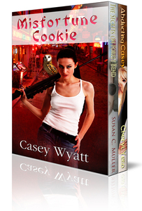 Boxed Set: A Romantic Suspense Trio: Bad boys, kick-ass heroines, and ghosts, oh my!