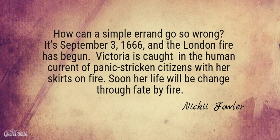how can a simple errand go so wrong its september 3 1666 and the london fire has...