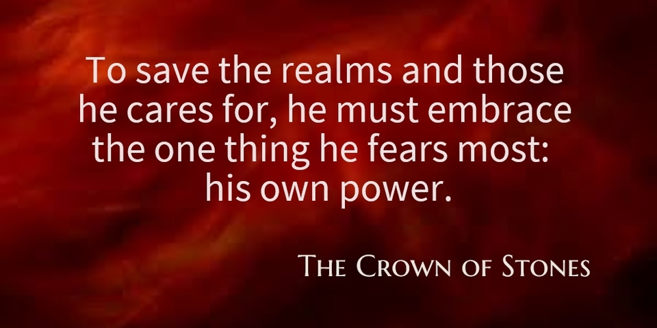 to save the realms and those he cares for he must embrace the one thing he fears most...