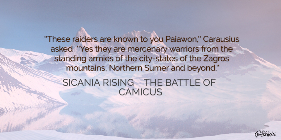these raiders are known to you paiawon carausius asked yes they are...