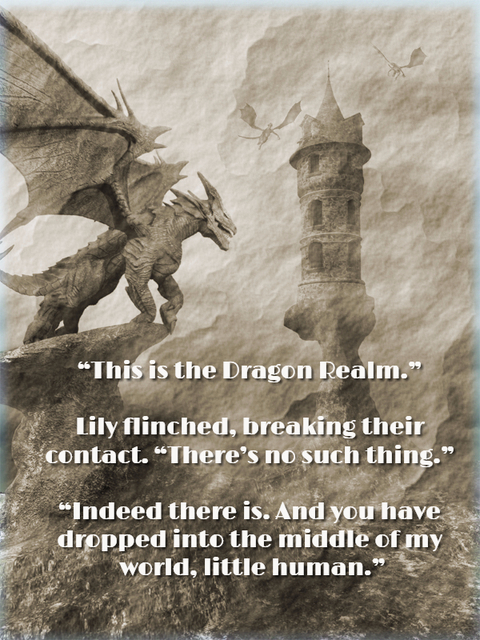 this is the dragon realm lily flinched breaking their contact theres no...