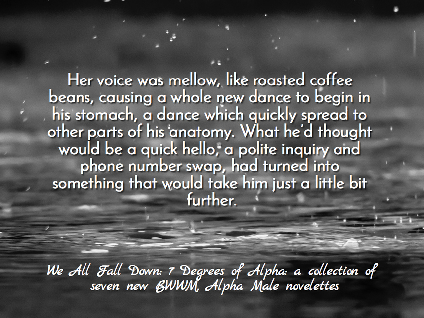 her voice was mellow like roasted coffee beans causing a whole new dance to begin in...