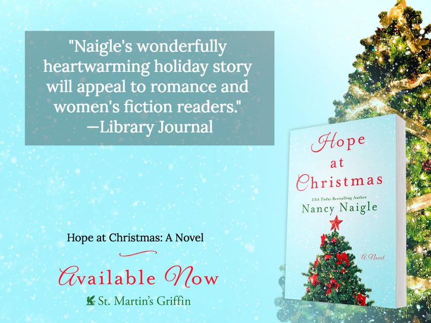 naigles wonderfully heartwarming holiday story will appeal to romance and womens...