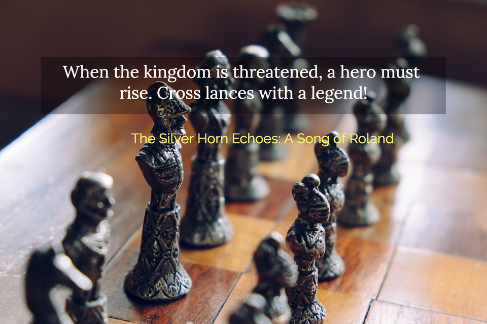 when the kingdom is threatened a hero must rise cross lances with a legend...