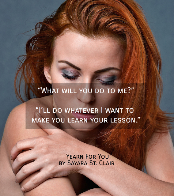 what will you do to me ill do whatever i want to make you learn your lesson...