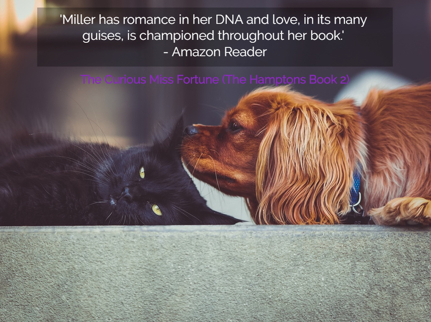 miller has romance in her dna and love in its many guises is championed throughout...