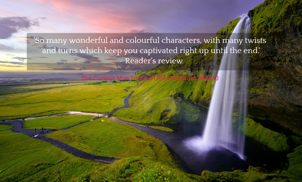 so many wonderful and colourful characters with many twists and turns which keep you...