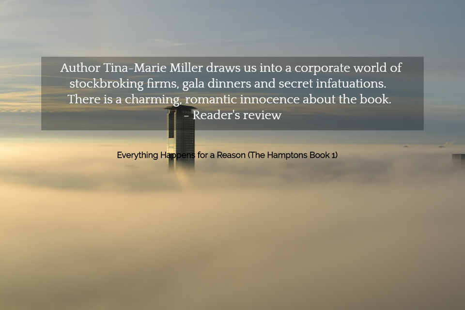 author tina marie miller draws us into a corporate world of stockbroking firms gala...