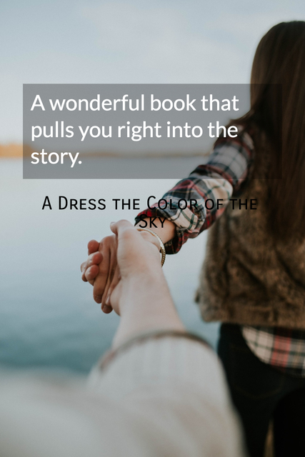 a wonderful book that pulls you right into the story...