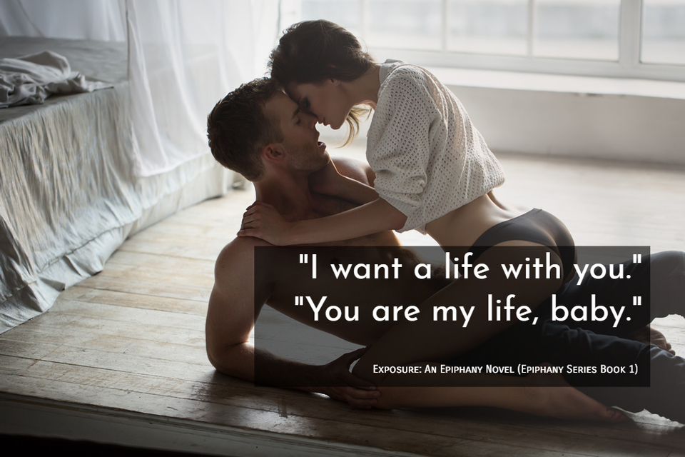i want a life with you you are my life baby...