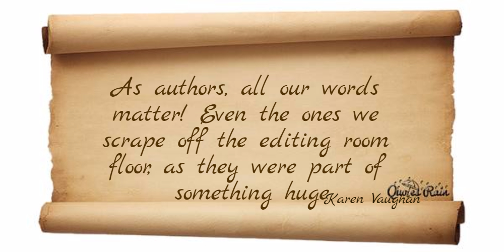 As authors all our words matter Even the... Picture Quotes 638 ...