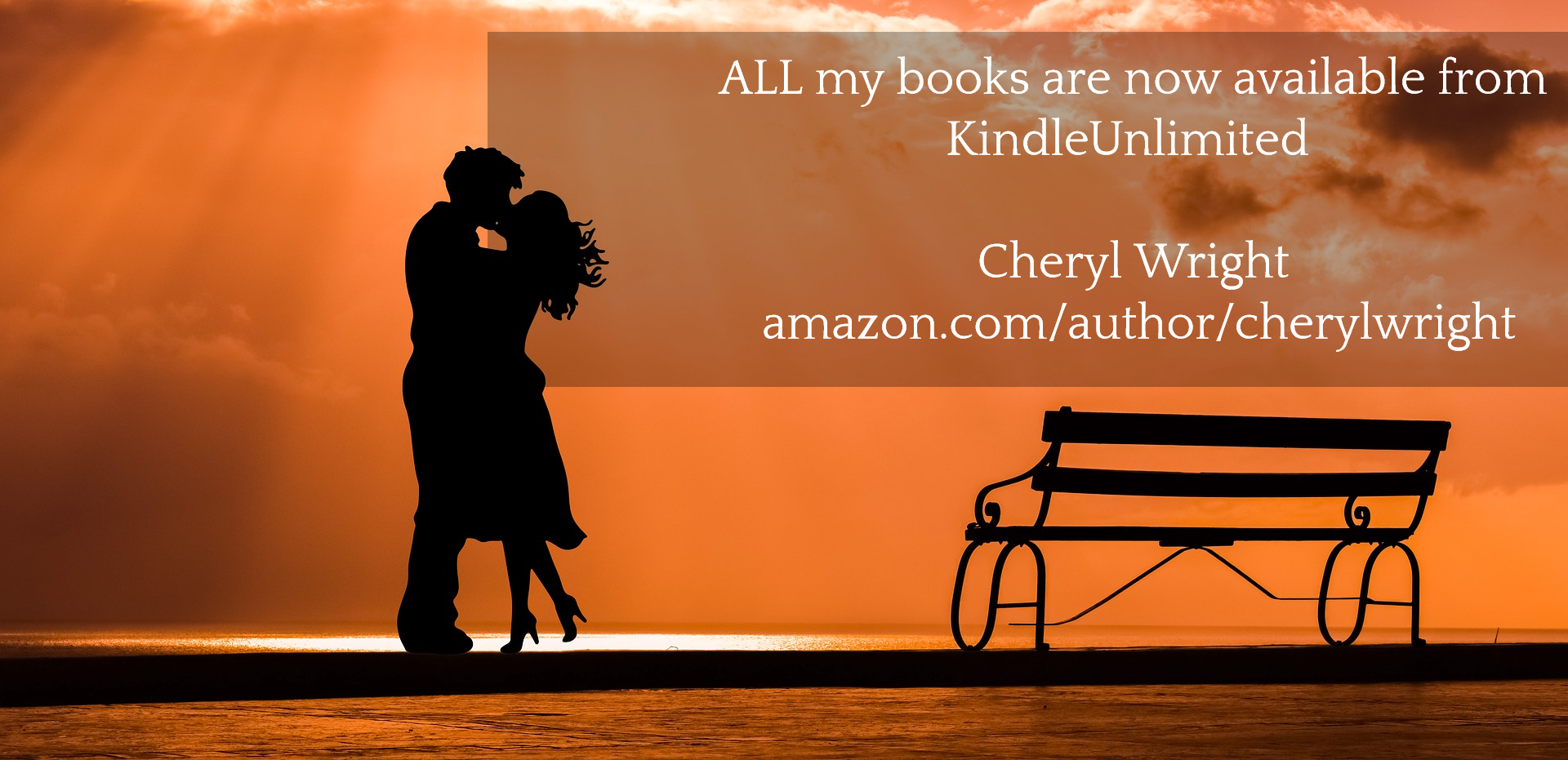 all my books are now available from kindleunlimited cheryl wright amazon...