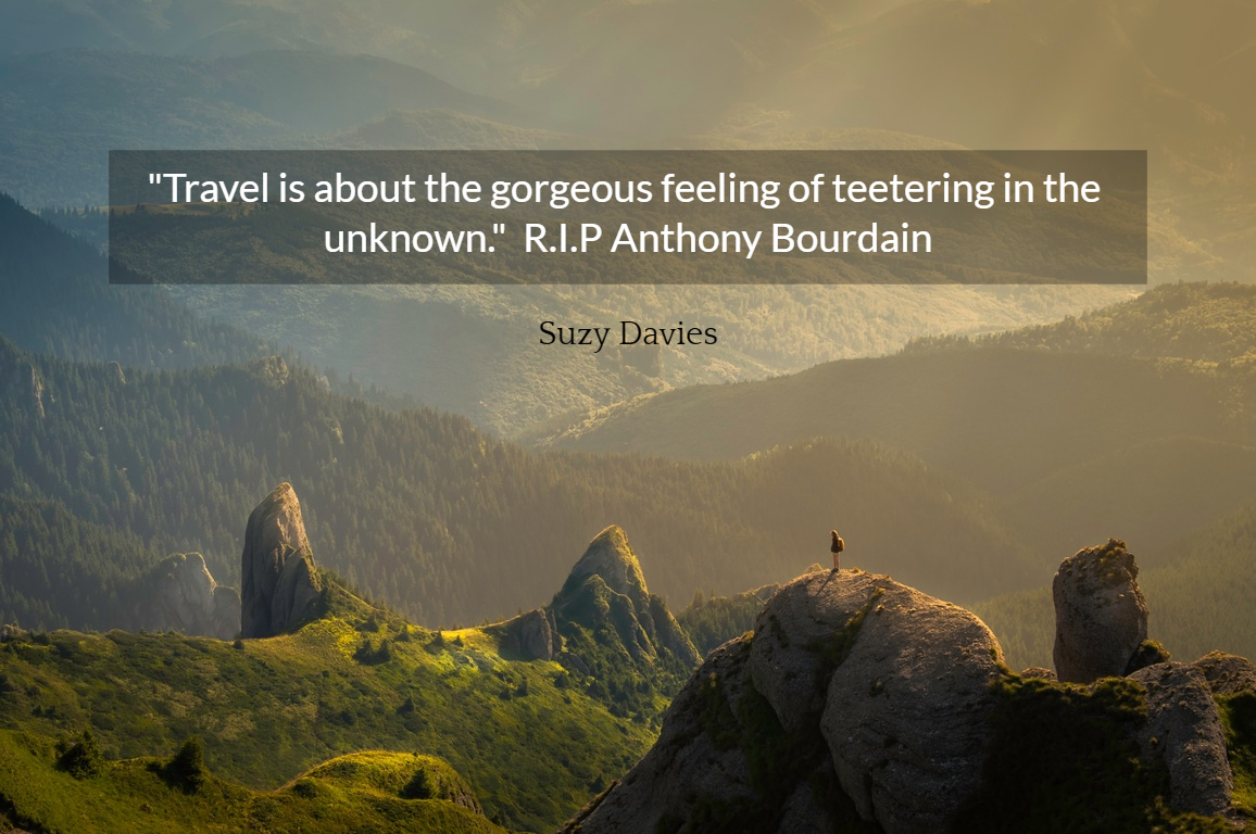 Travel Is About The Gorgeous Feeling Of Picture Quotes 4698