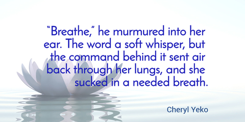 breathe he murmured into her ear the word a soft whisper but the command behind...