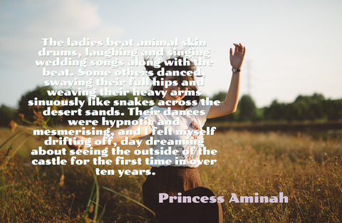 the ladies beat animal skin drums laughing and singing wedding songs along with the beat...