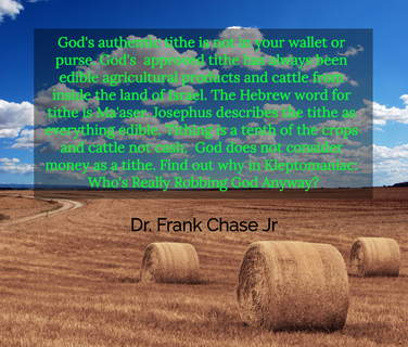 gods authentic tithe is not in your wallet or purse gods approved tithe has always...