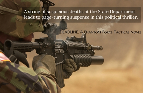 a string of suspicious deaths at the state department leads to page turning suspense...