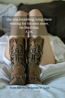 she was trembling lying there waiting for his next move he liked that a lot...