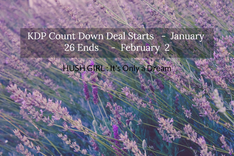 kdp count down deal starts january 26 ends february 2...