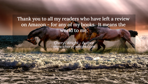 thank you to all my readers who have left a review on amazon for any of my books it...