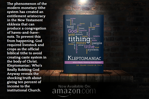 the phenomenon of the modern monetary tithing system has created an entitlement...