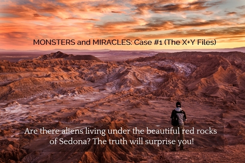 are there aliens living under the beautiful red rocks of sedona the truth will surprise...