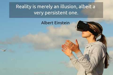 reality is merely an illusion albeit a very persistent one...