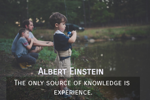 the only source of knowledge is experience...