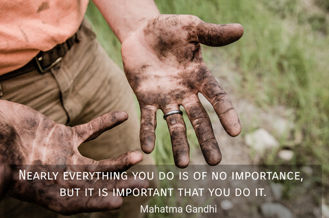 nearly everything you do is of no importance but it is important that you do it...