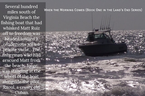 several hundred miles south of virginia beach the fishing boat that had whisked matt ruiz...