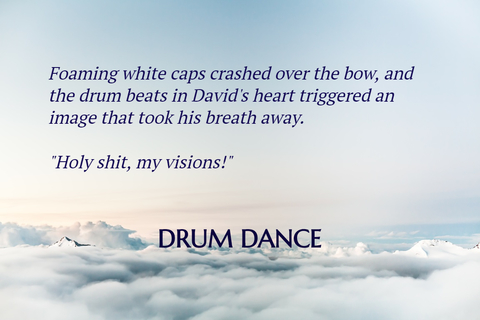 foaming white caps broke over the bow and the drum beats in davids heart triggered an...