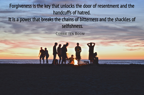 forgiveness is the key that unlocks the door of resentment and the handcuffs of hatred...