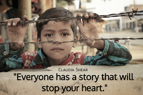 everyone has a story that will stop your heart...