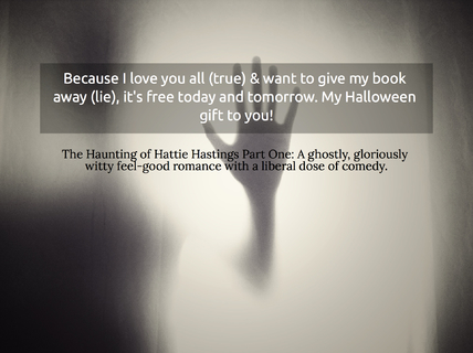 because i love you all true want to give my book away lie its free today and...