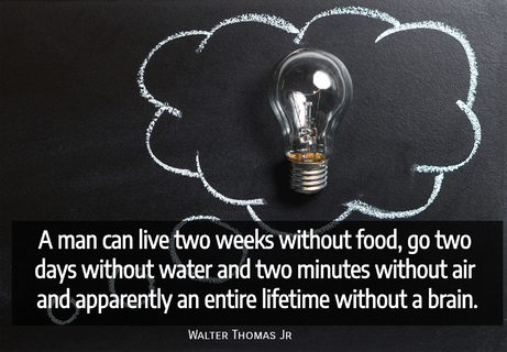a man can live two weeks without foodbrgo two days without waterbrand two minutes...