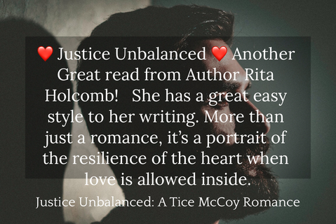 justice unbalanced another great read from author rita holcomb she has a...