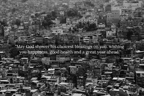 may god shower his choicest blessings on you wishing you happiness good health and a...