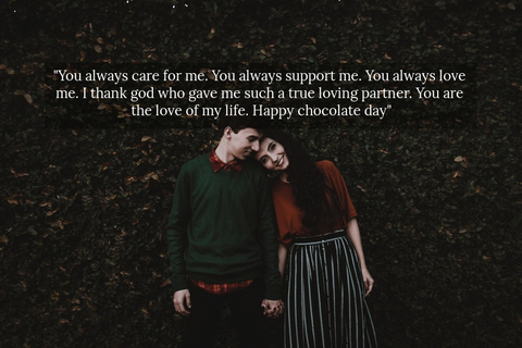 you always care for me you always support me you always love me i thank god who gave...