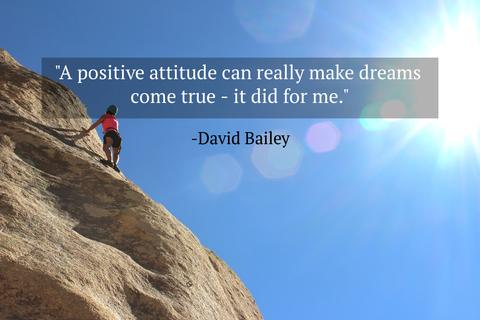 a positive attitude can really make dreams come true it did for me...