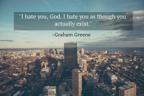 i hate you god i hate you as though you actually exist...