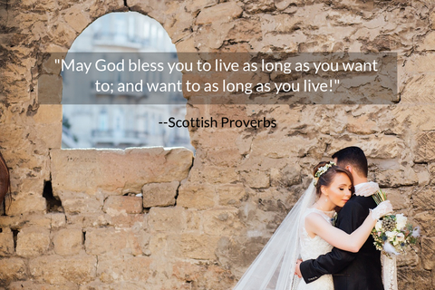 may god bless you to live as long as you want to and want to as long as you live...
