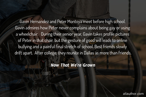 gavin hernandez and peter montoya meet before high school gavin admires how peter never...