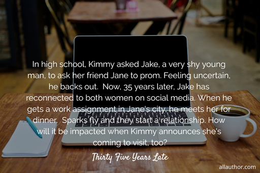 in high school kimmy asked jake a very shy young man to ask her friend jane to prom...