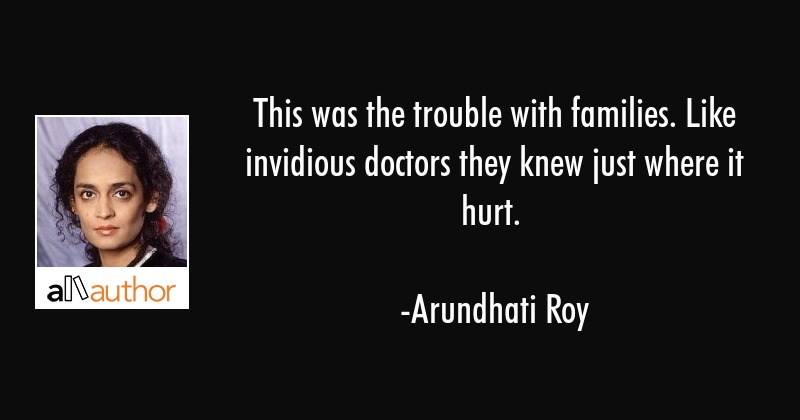 This was the trouble with families. Like... - Quote