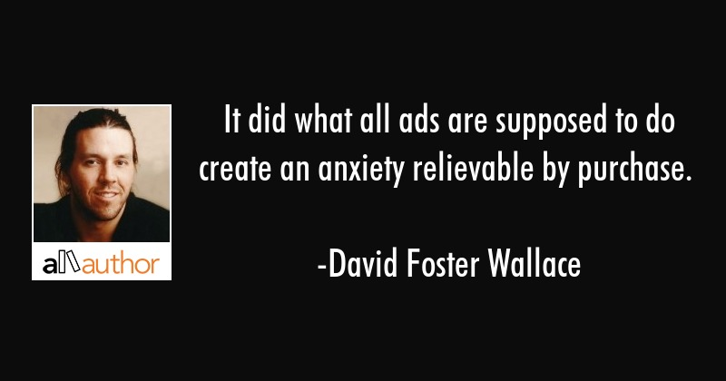 It did what all ads are supposed to do... - Quote