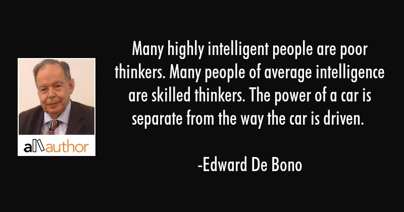 Many Highly Intelligent People Are Poor Quote