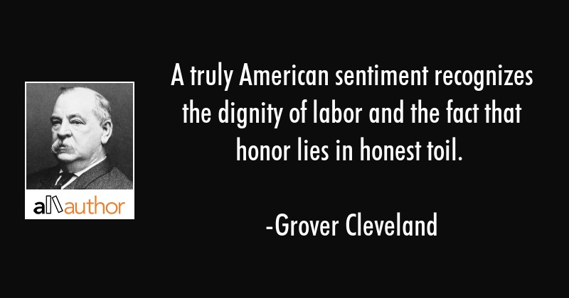 A Truly American Sentiment Recognizes The Quote