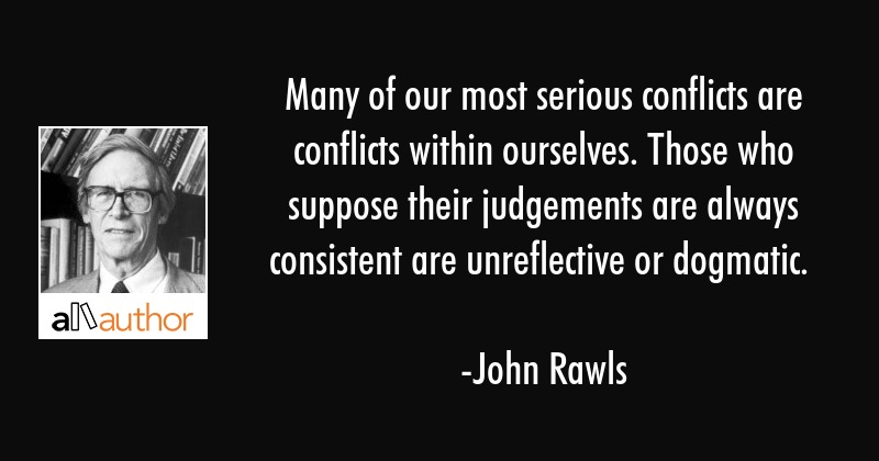 Many of our most serious conflicts are... - Quote