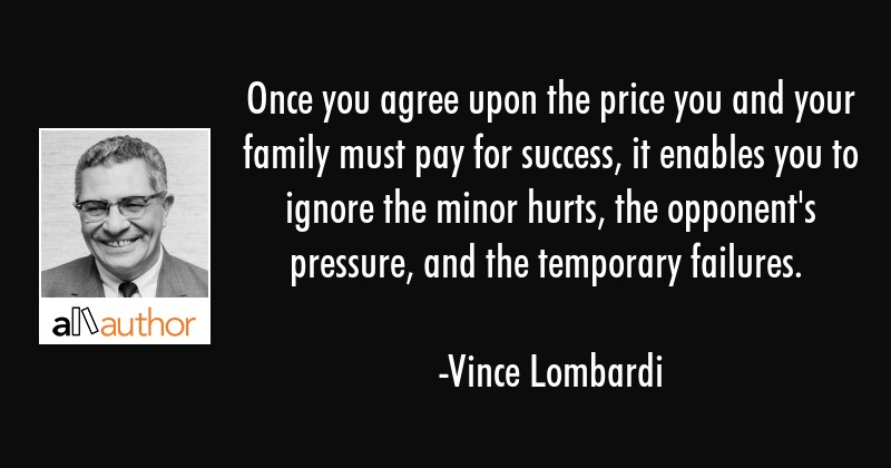 once you agree upon the price you and your quote